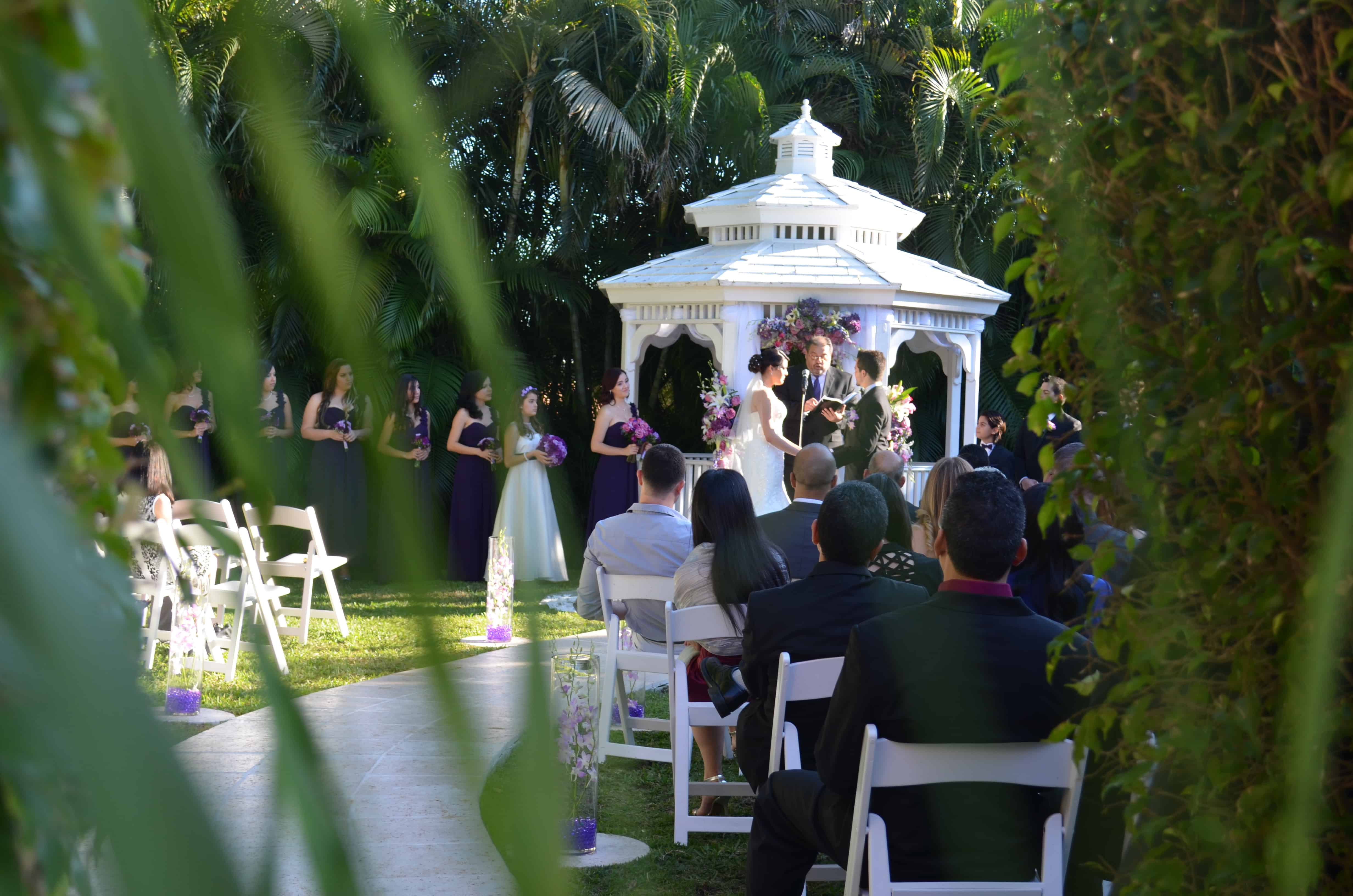 How To Plan A Beautiful Outdoor Wedding In Miami