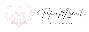 Paper MHeart Stationery