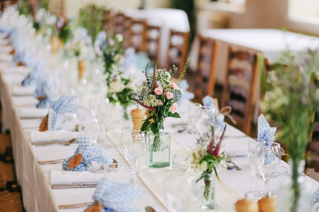 Beautiful tabletop decor inspiration for Miami wedding venues